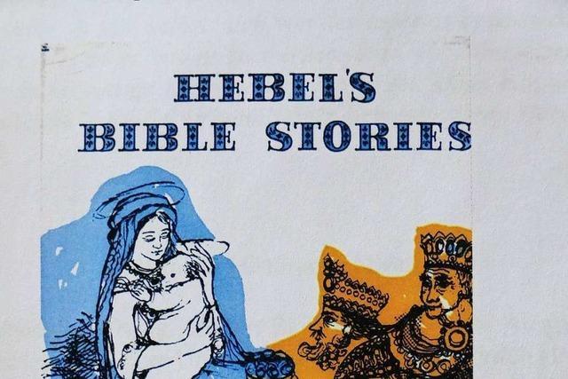 Elmar Vogt erforscht die biblischen Geschichten von Johann Peter Hebel