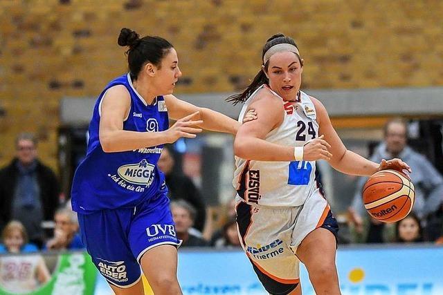 Freiburgs Basketballerinnen verlieren erstes Playoff-Spiel mit einem Punkt Unterschied – 80:81