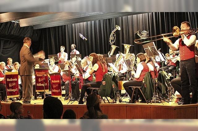 Musikverein konzertiert in Feldbegr