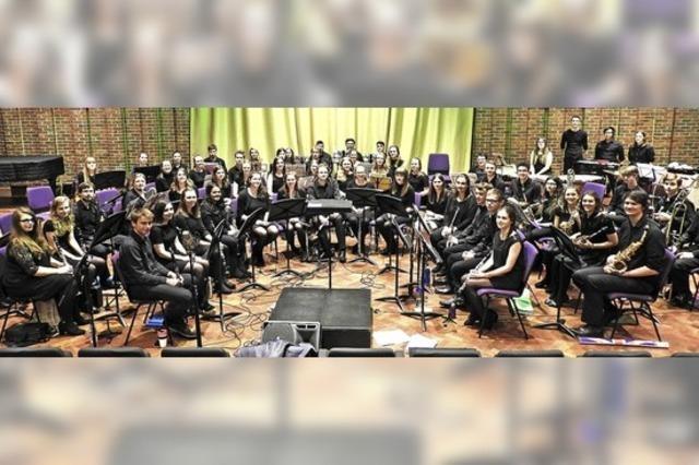 Southampton University Concert Band und Jazz Band zu Gast in Bad Bellingen