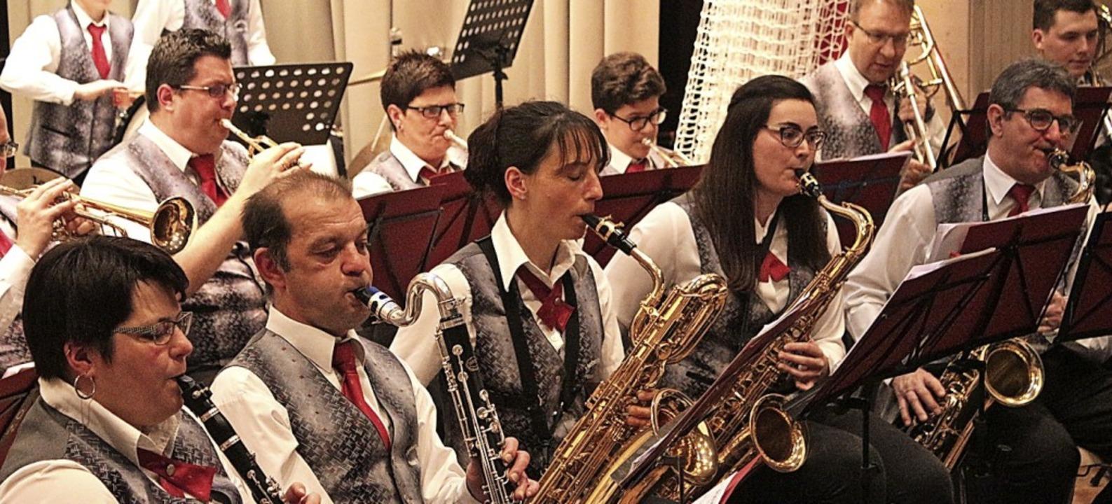 Zeigte ihr Können: die Hebelmusik beim Jahreskonzert  | Foto: Anja Bertsch