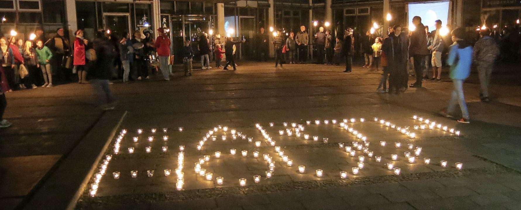 Earth Hour in Emmendingen  | Foto: Georg Voß