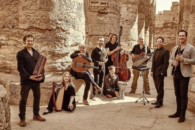 Quadro Nuevo und Cairo Steps präsentieren gemeinsames Album Flying Carpet