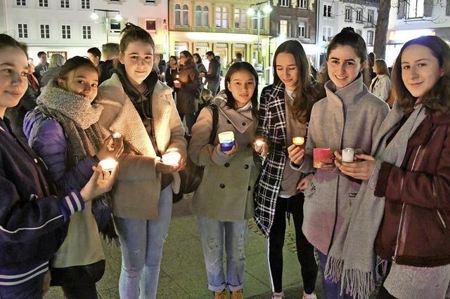 Kerzen für den Klimaschutz