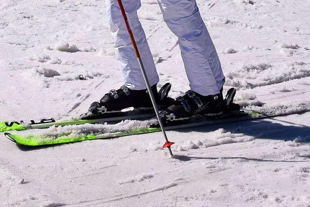 Auf den Höhen liegt noch Schnee – die Lifte auf dem Feldberg sind noch in Betrieb