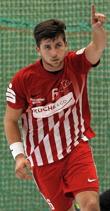 <BZ-FotoAnlauf>TuS Ringsheim:</BZ-Foto...n lieferte dem Team wichtige Impulse.   | Foto:  PresseBüro Schaller