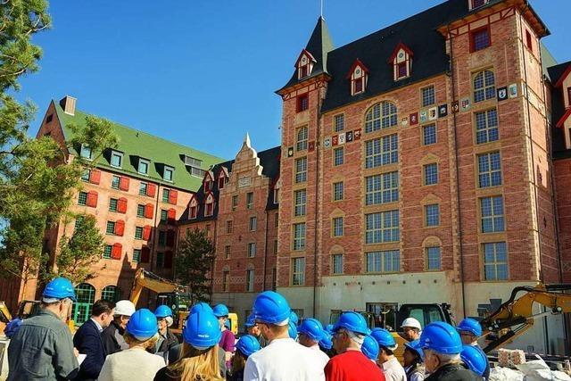 Hinter den Kulissen der Baustellen im Europa-Park – wie war's bei der BZ-Führung?