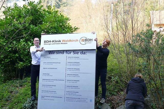 Waldkircher Krankenhaus startet als BDH-Klinik