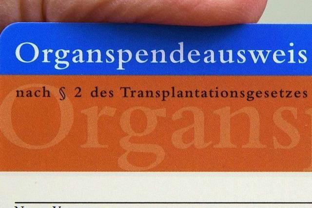 Spahn legt Entwurf zur Widerspruchsregelung bei Organspende vor