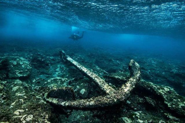 Zeller Tauchschule holt den Unterwasserarchäologe Florian Huber in die Region