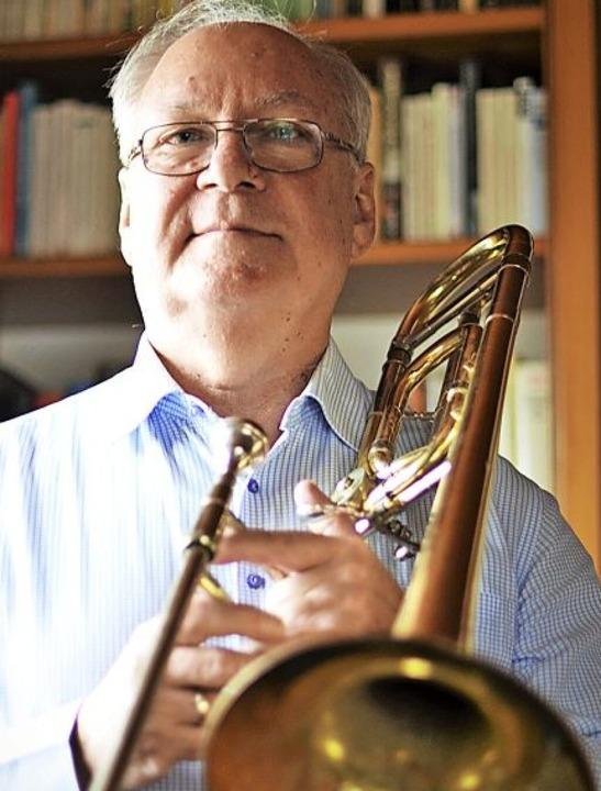 Harald Bobeth will künftig wieder selbst musizieren und Posaune üben.   | Foto: Kathrin Blum