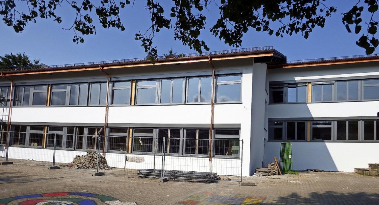 Die Sanierung der Fassade der Schule i...bäudes auf Vordermann gebracht werden.  | Foto: Archivfoto: Wolfgang Adam