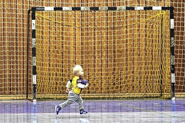 Den Nachwuchs für Handball begeistern