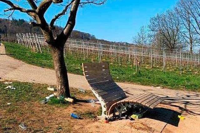Wird bald eine Sonnenliege wegen Partylärm und Müll entfernt?
