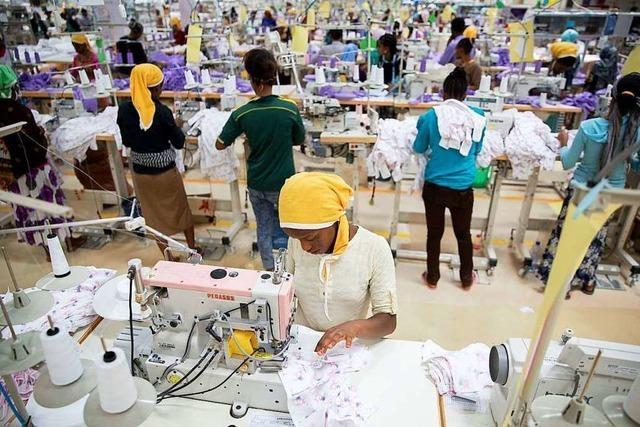 Sozialverträglich hergestellte Kleidung ist nur ein Nischenprodukt