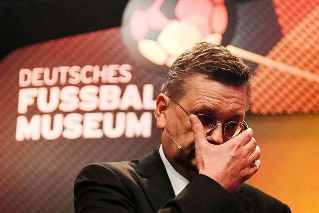 DFB-Chef Grindel muss um seinen Job bangen