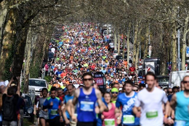 Am Wochenende gibt es beim Freiburg-Marathon fünf Wettkämpfe