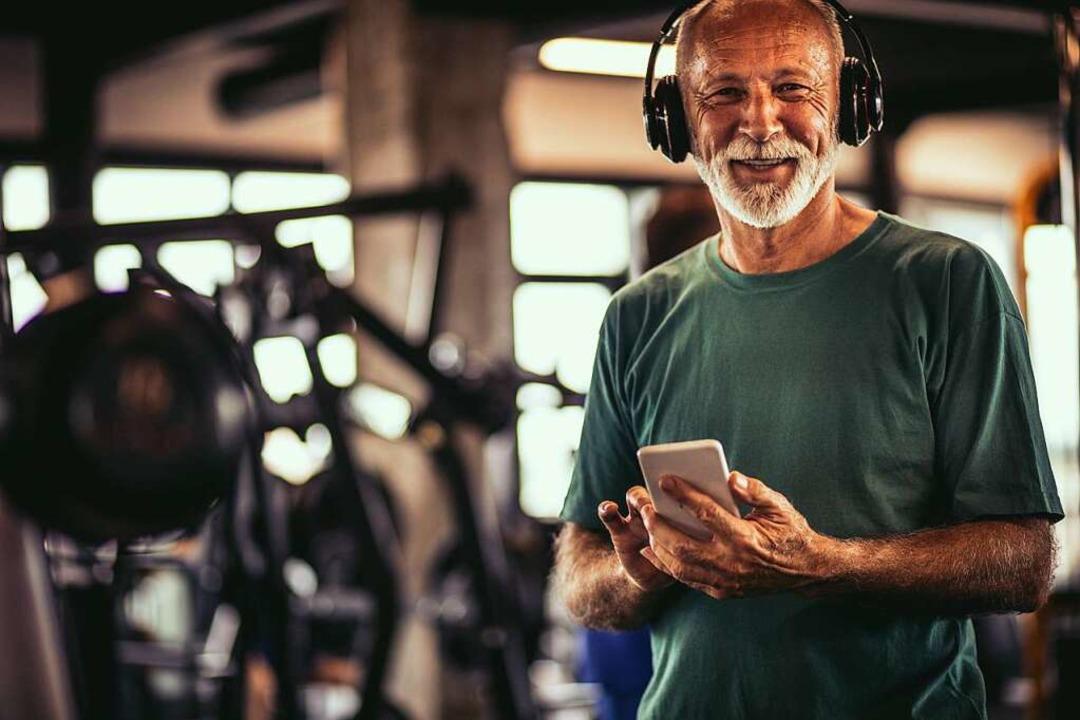 Mit dem richtigen Hörbuch fällt auch das anstrengendste Workout leicht.  | Foto: Mladen via Fotolia