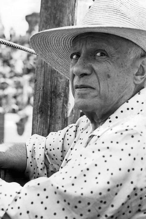 Pablo Picasso.  | Foto: DB dpa