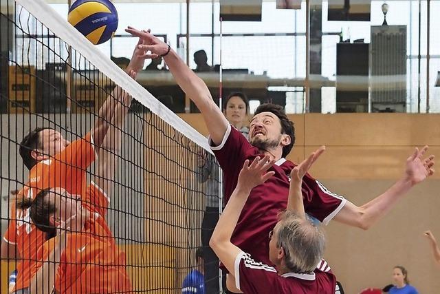 Im Zeichen des Volleyballs