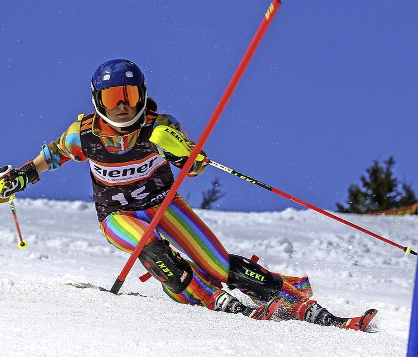 Überlegene Doppelsiegerin: Ronja Wiesler  | Foto: martin siegmund