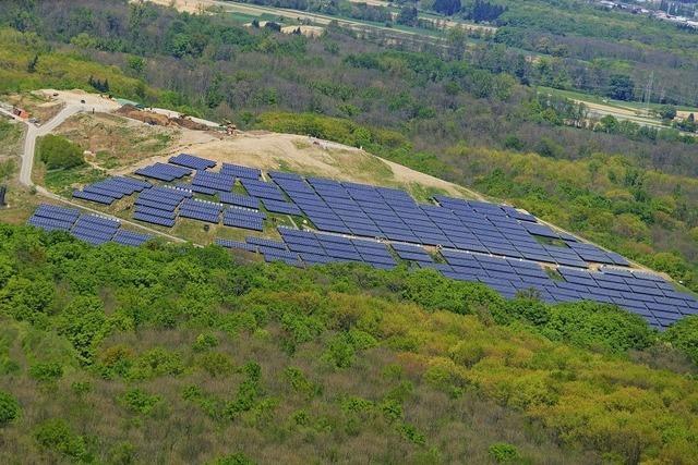 Kommt auf die ehemalige Mülldeponie bei Neuenburg eine Solaranlage?