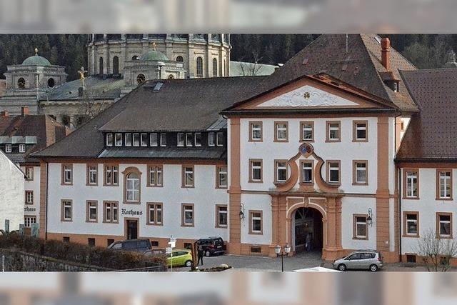 Umbauarbeiten im Rathaus St. Blasien