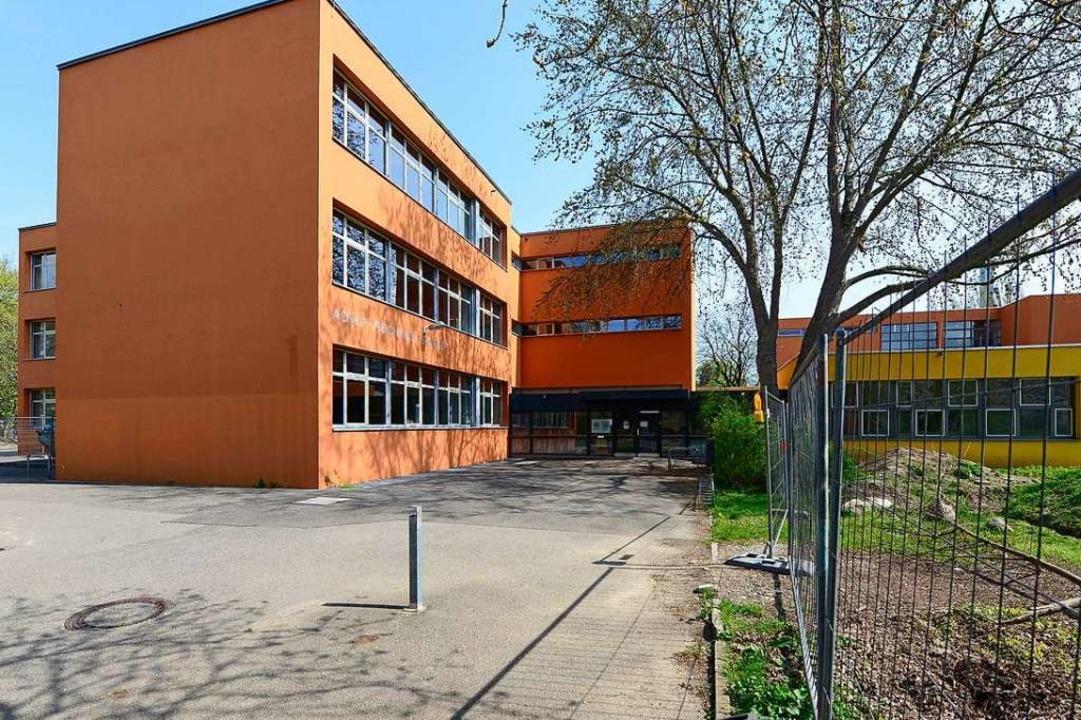 Mit anderthalb Jahren Verspätung soll ...chwein-Schule in Weingarten  beginnen.  | Foto: Ingo Schneider