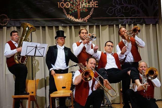 So war es beim Konzert zum 100. Geburtstag des Musikvereins Offnadingen