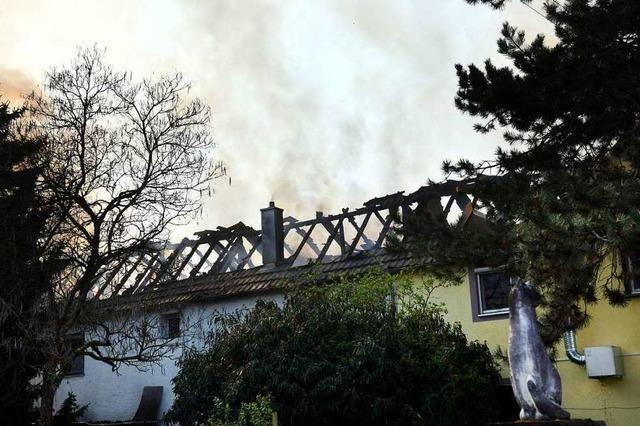 Drei Familien aus Kappel haben bei einem Brand alles verloren