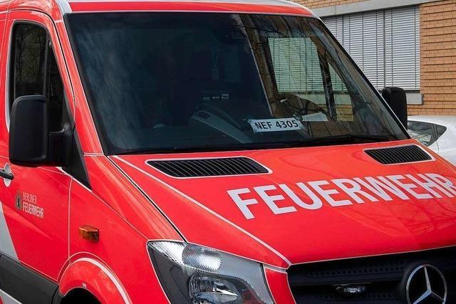 Zwei Brandeinsätze in Seelbach