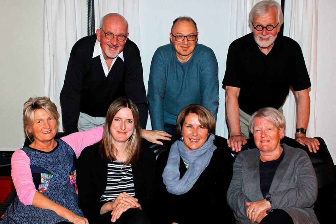 Barbara Hanemann, Anita Gräßlin, Beate...André Castellanos und Thomas  Willmann  | Foto: Reinhard Cremer
