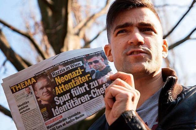 Die FPÖ ist um eine Abgrenzung zur Identitären Bewegung bemüht