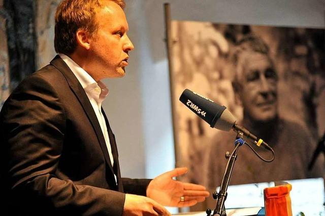 Verleihung des Peter-Huchel-Preises 2019 an den Lyriker Thilo Krause