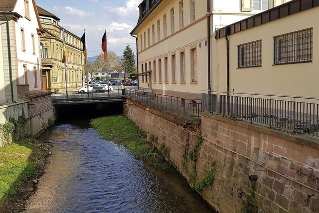Poststeg und Hochwasser