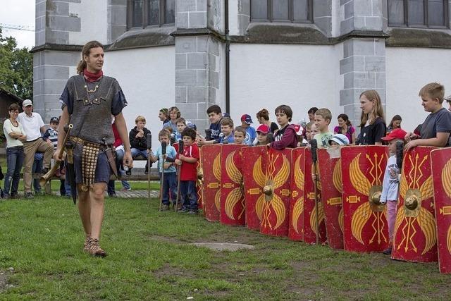 Römisches Fest zur Saisoneröffnung in Vindonissa