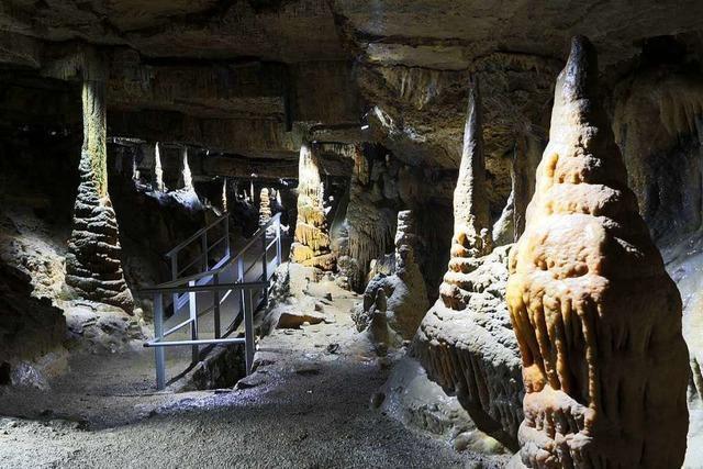 Die Hasler Höhle verzeichnet 3000 Besucher weniger