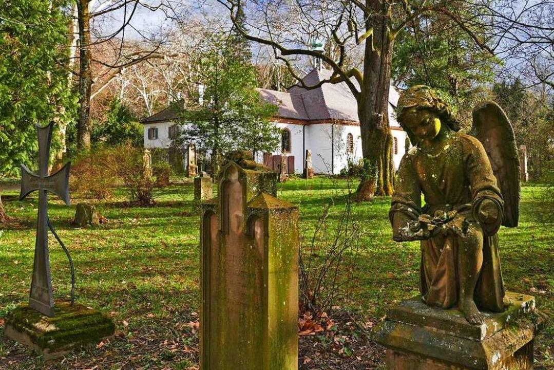 Der Alte Friedhof im Freiburger Quartier Neuburg.  | Foto: Heinz Ney