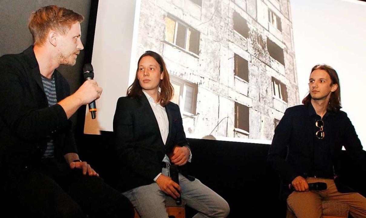 Bilder von der Front dokumentierten da...yrnol mit BZ-Redakteur Felix Lieschke.  | Foto: Heidi Fößel