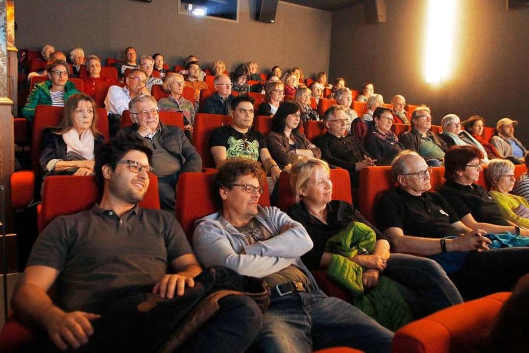 Das Interesse der Lahrerinnen und Lahrer an den Filmen war groß.  | Foto: Heidi Fößel