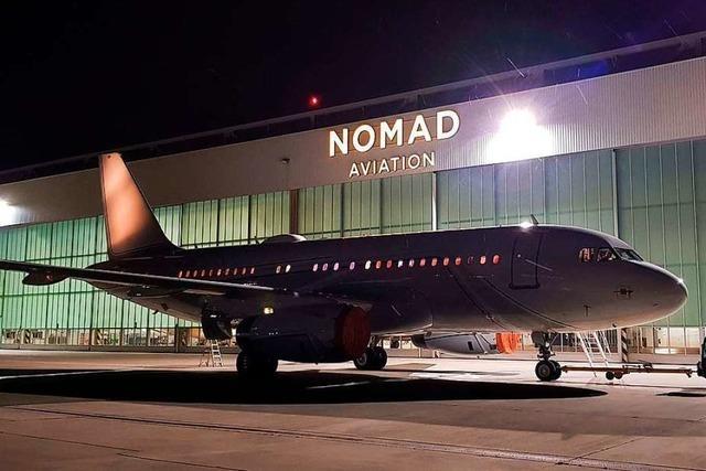Die Flugzeugwartung ist ein wichtiges Standbein am Euroairport