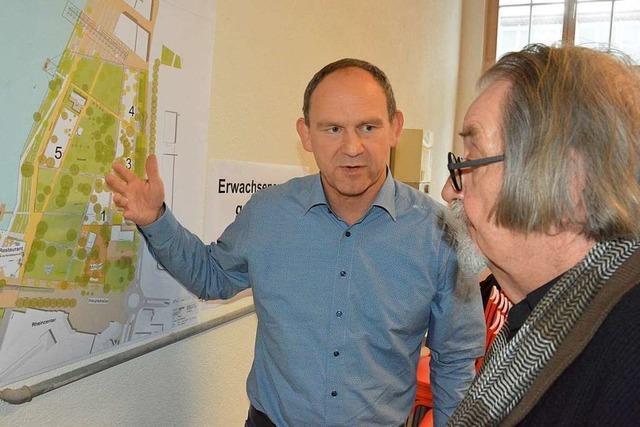 Der Rheinpark in Friedlingen soll für jeden etwas bieten