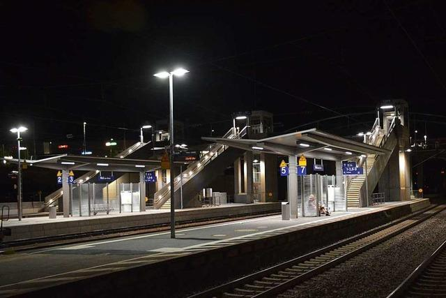 Bis 2024 ist der Bahnhof von Weil am Rhein nicht behindertengerecht