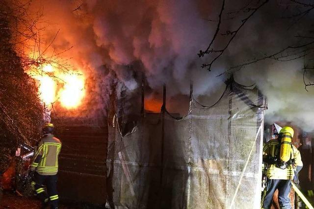 Hütte in Emmendinger Wagenburg muss nach Brand abgerissen werden