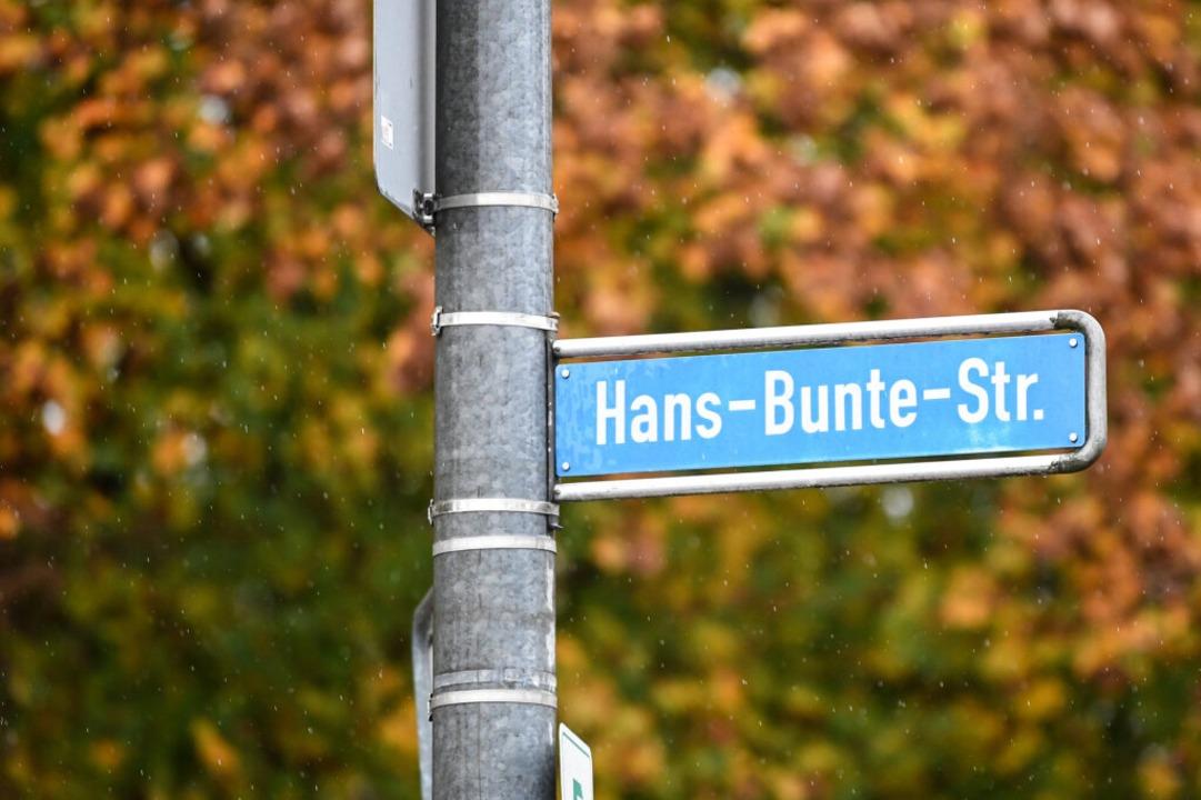 Die Hans-Bunte-Straße liegt im Gewerbegebiet Nord.  | Foto: dpa