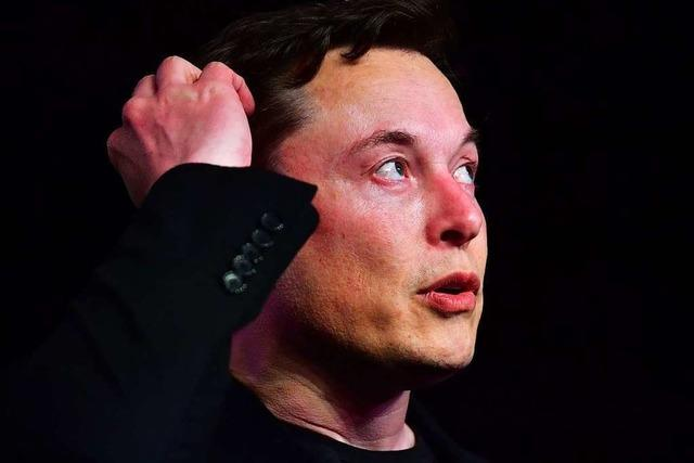 Elektroautobauer Tesla stürzt an New Yorker Börse ab