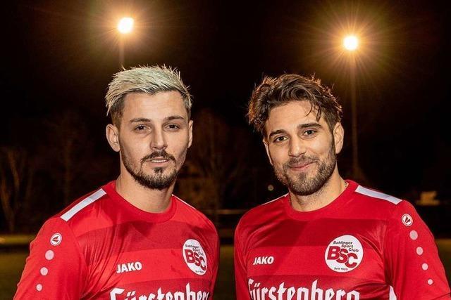 Hasan Pepic und Shqipon Bektasi: Zwei Fußballnomaden wollen am Kaiserstuhl sesshaft werden