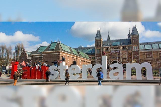 Amsterdam ist zu voll