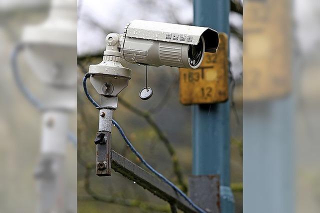 Kameras zählen Verkehr