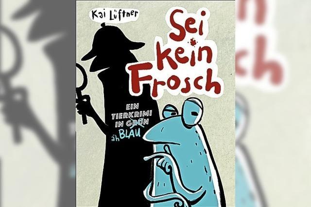 BUCHTIPP: Frosch auf Mörderjagd
